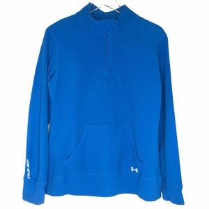 Under Armour Semi-Fitted Blue Fleece Top A140596